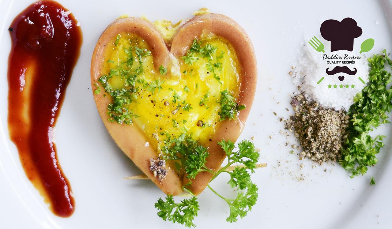Sausage Egg Heart – Easy Recipe