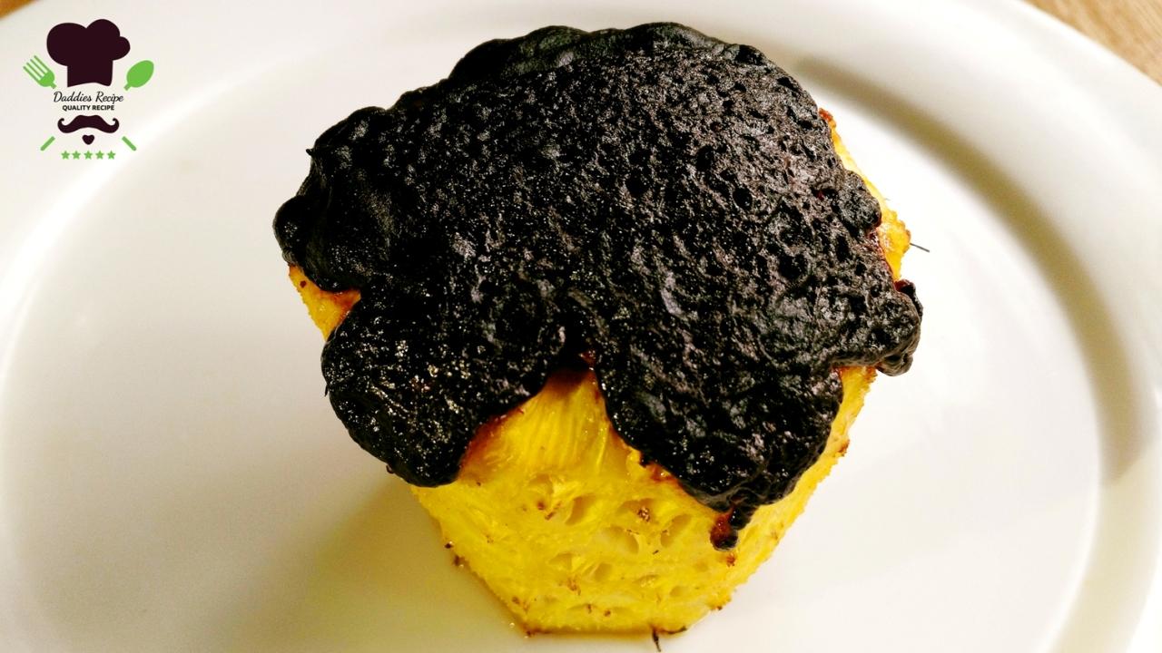 Pineapple chocolate lava cupcake – Easy Recipe