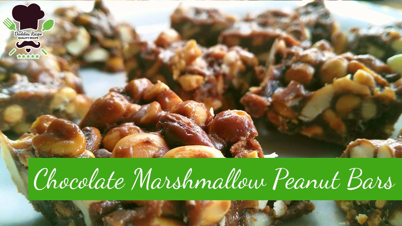 How to make Chocolate Marshmallow Peanut Bars – Easy Recipe