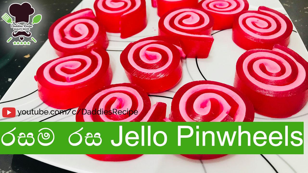 Jello Pinwheels Recipe